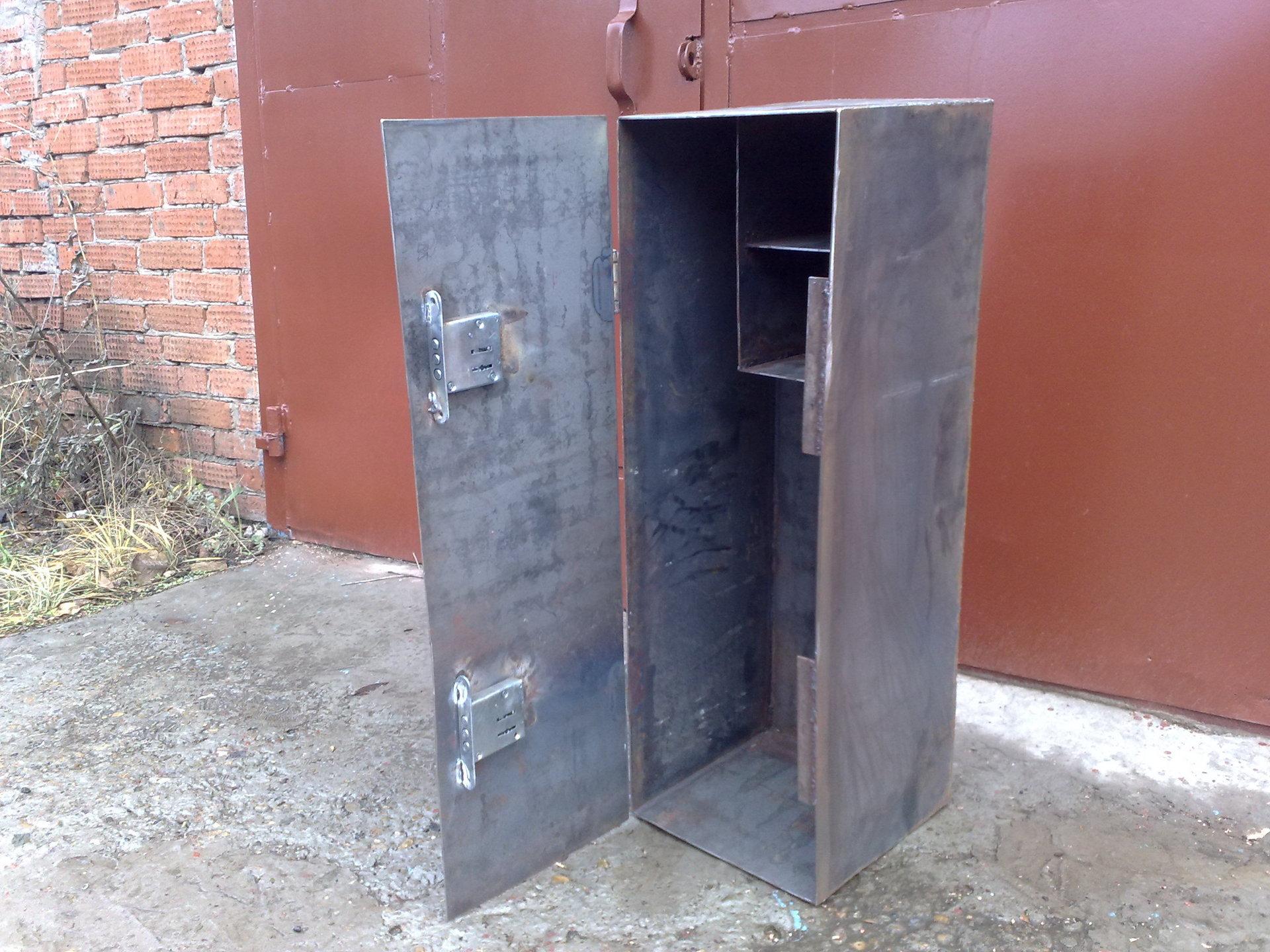 Как сделать металлический шкаф своими руками 14