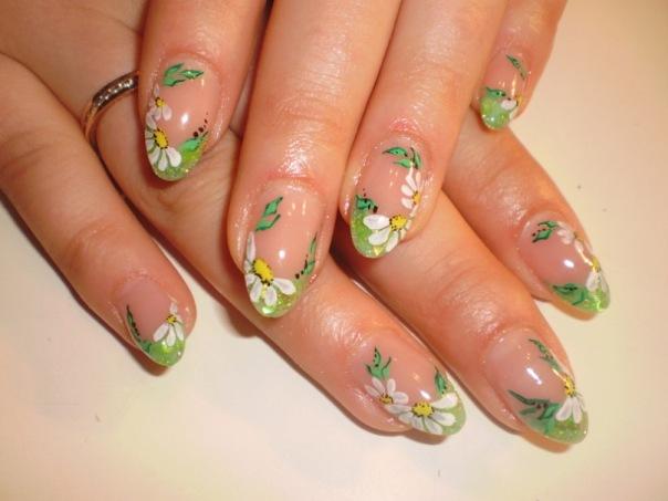 Весенний дизайн ногтей френч