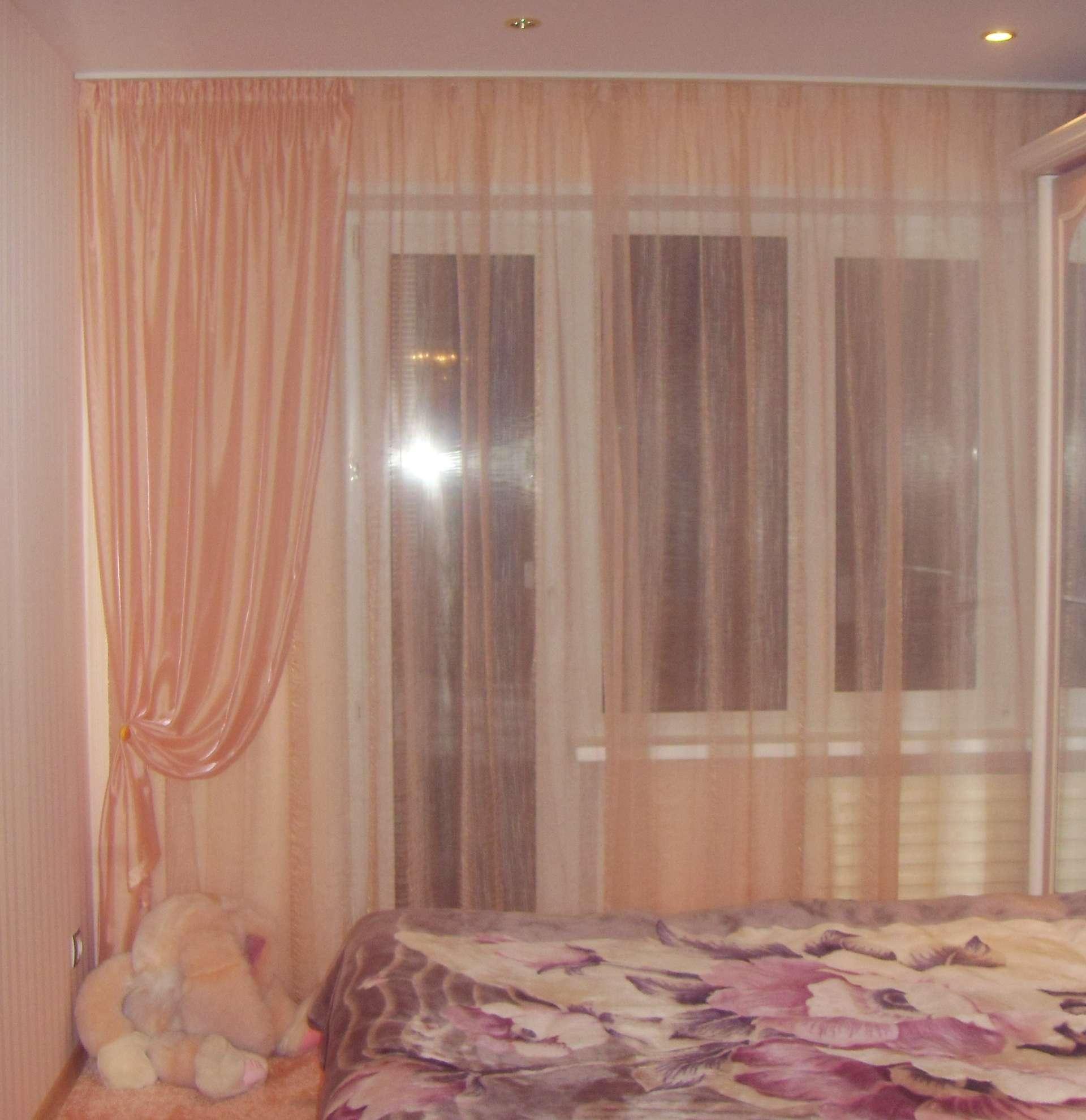 Тюль для спальни сшить 835