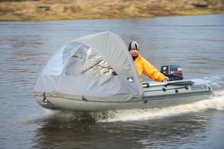 тент на лодку динго