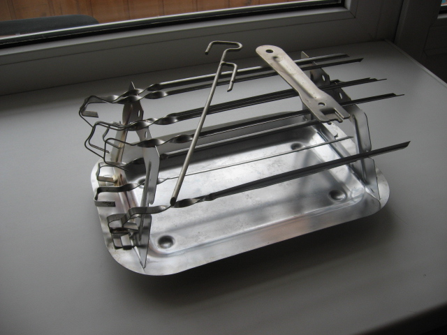 Шашлычница для духовок своими руками