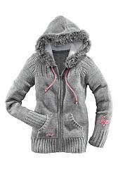 вязаная куртка с мехом мужская - Сумки.