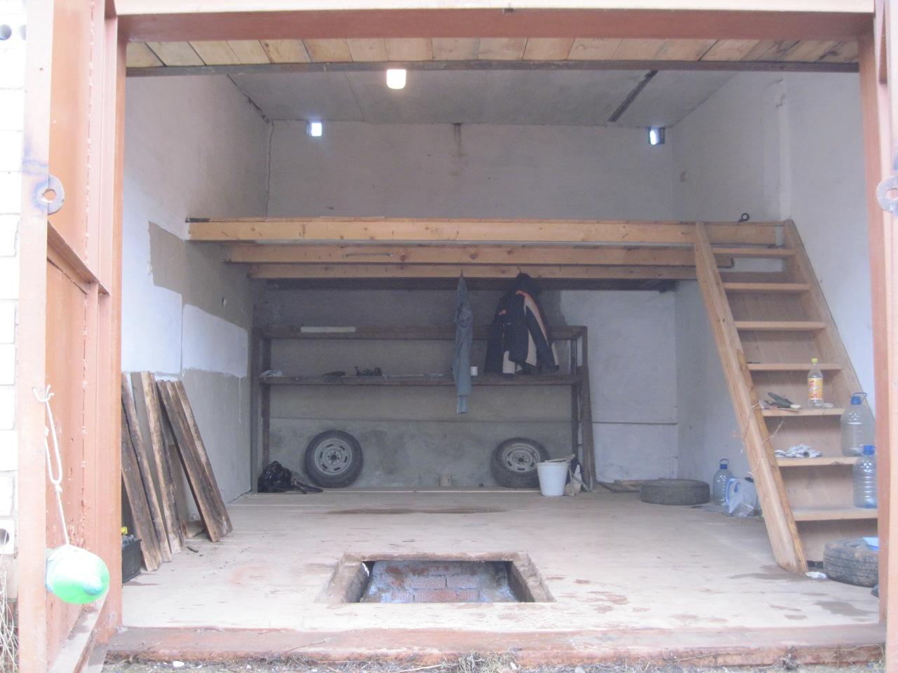 Как в гараже сделать второй этаж в