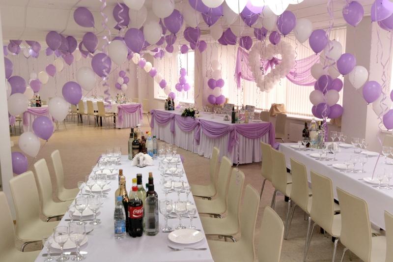 Фото как украшают зал к свадьбе своими руками