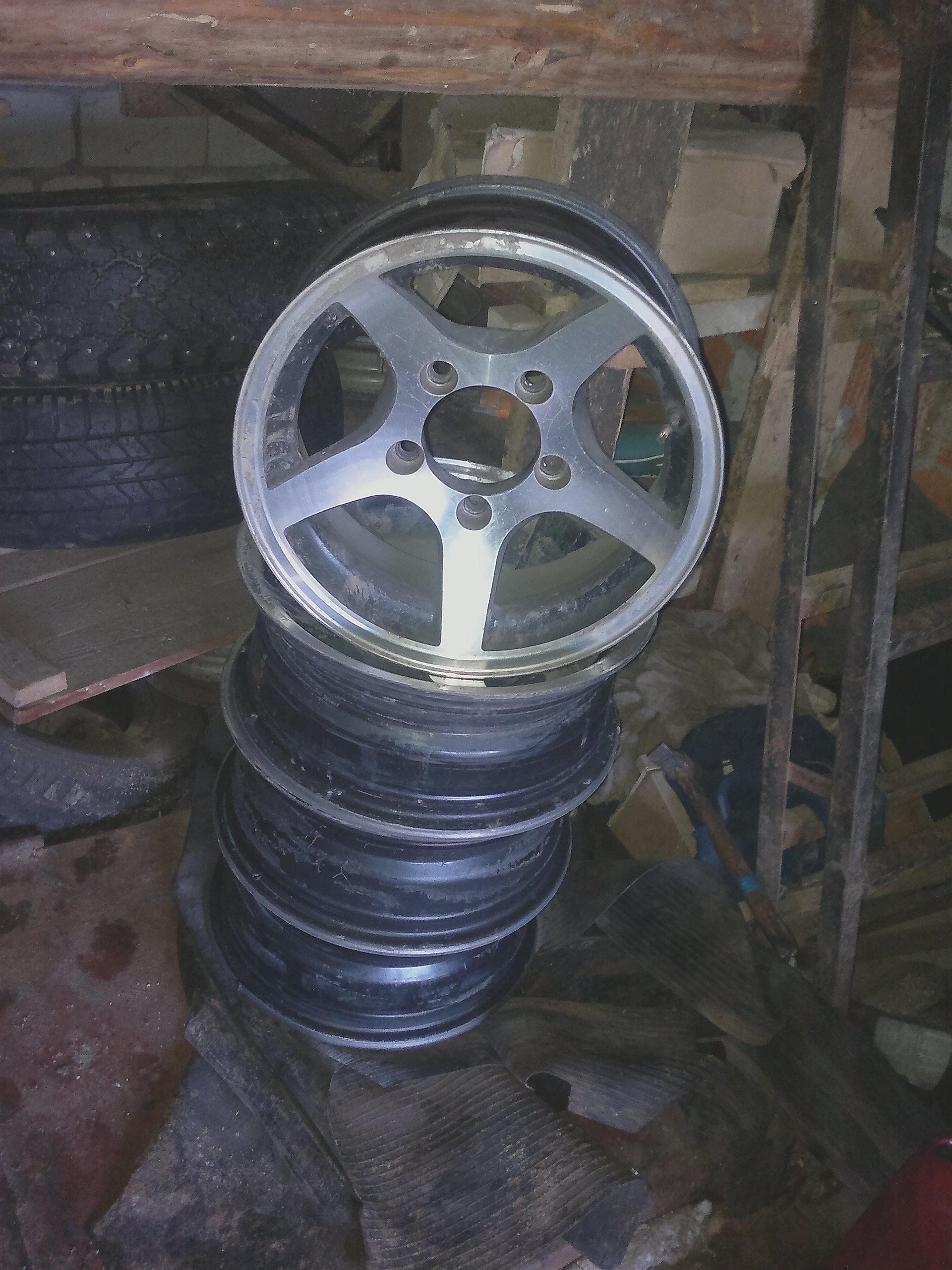 Литые диски на ниву 21214 r16 - 416