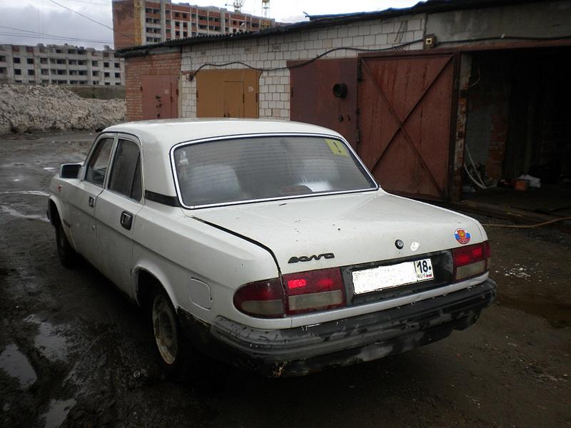 Пробег 118 тыскм на спидометре, панель и сидения 3110, магнитола, цвет: белый, двигатель 402.  Продается ГАЗ 3110.