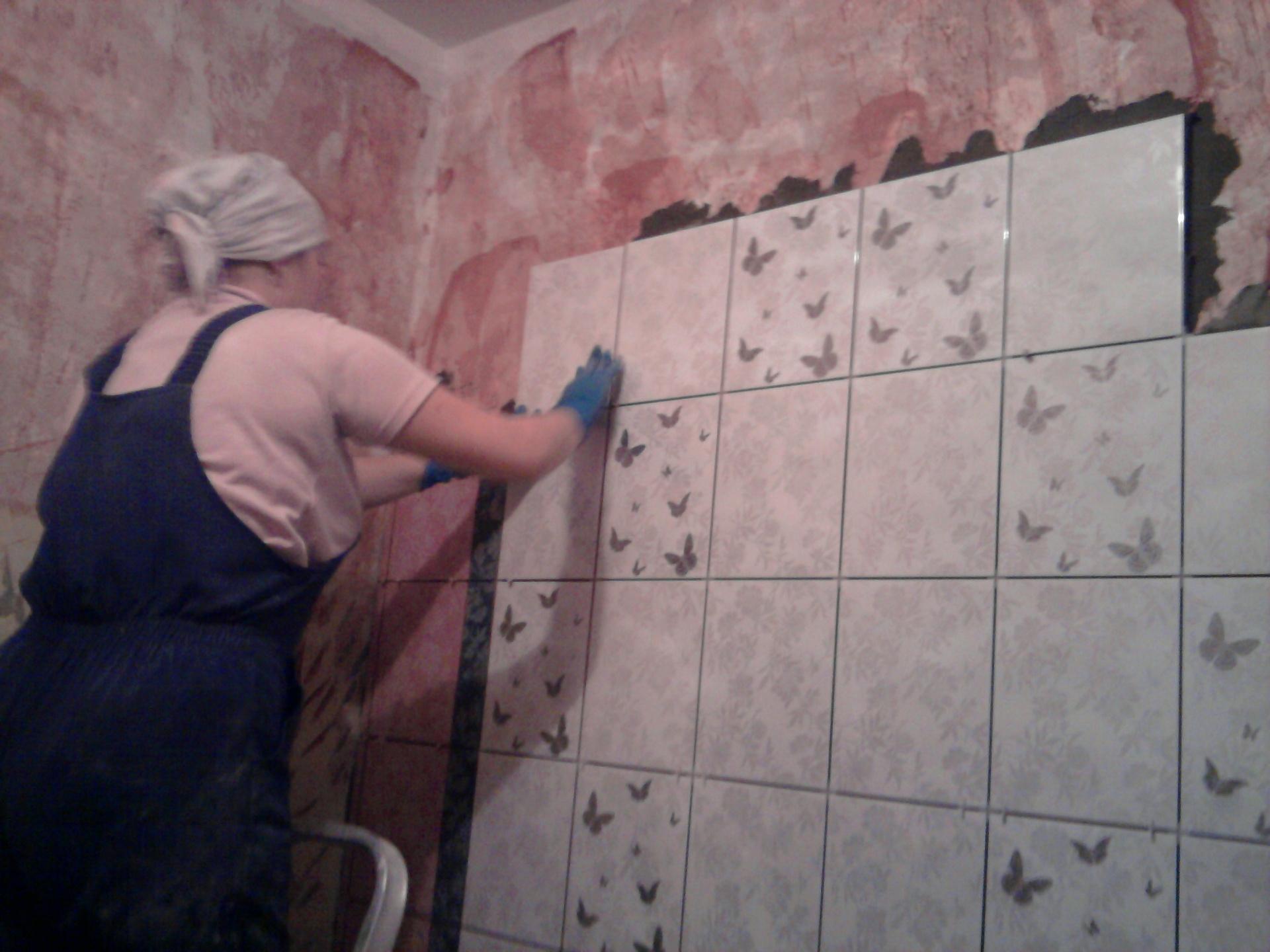 Плитка в ванной своими руками подробная инструкция