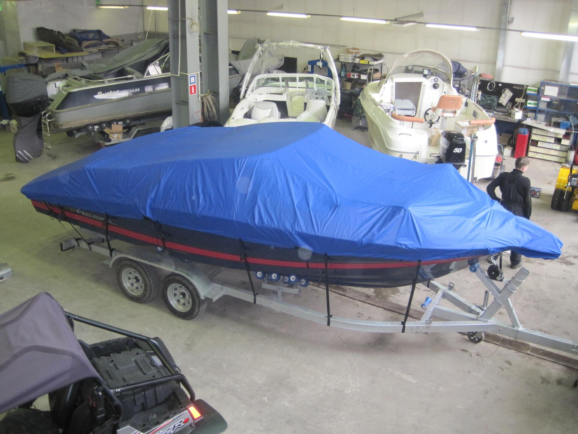 Большие катера с подвесными моторами