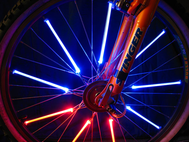 Как сделать подсветку на весь велосипед