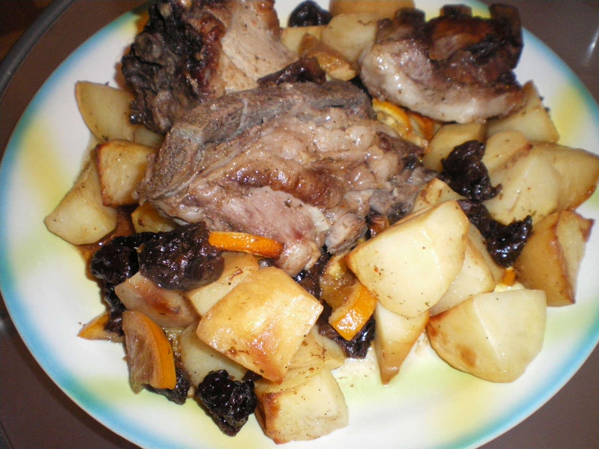 Рецепт пошагово ребрышки с картошкой