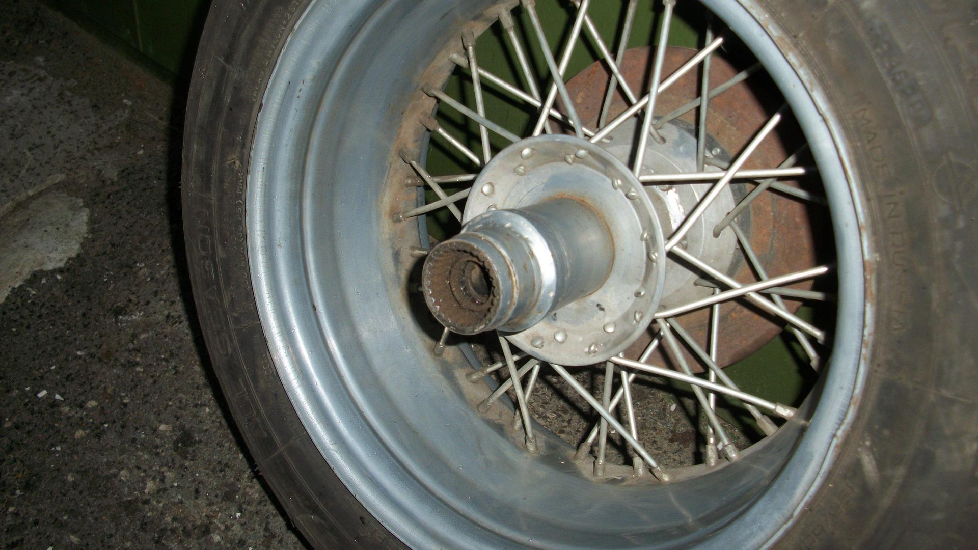 Как сделать широкое колесо на тяжелый
