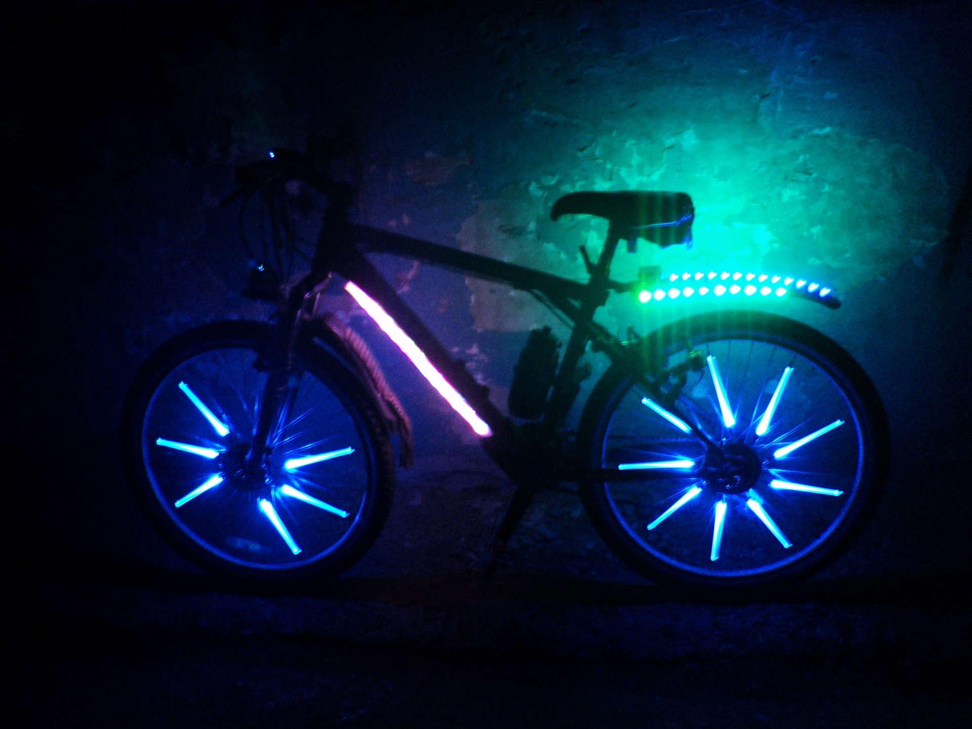 Как сделать подсветки на колеса