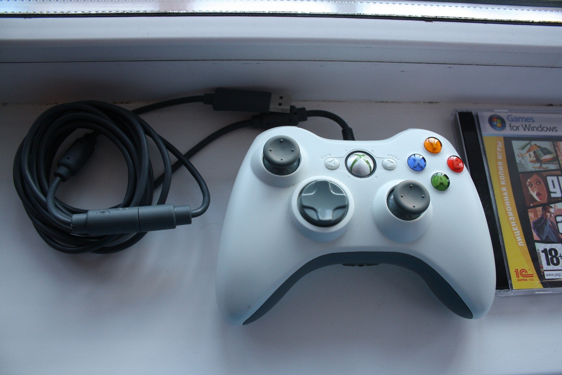 Продам джойстик Xbox 360 проводной (PC совместимый) - Марковские ...