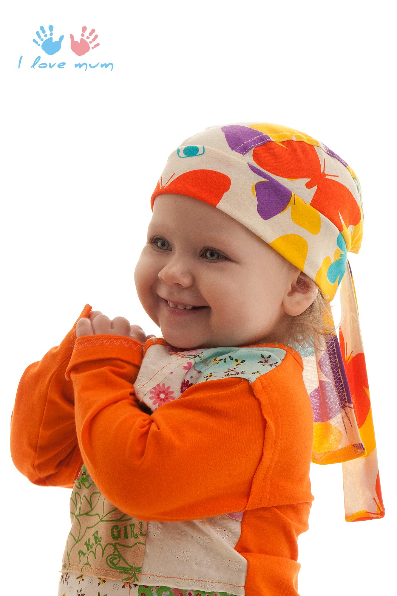 Бандана на ребенке фото