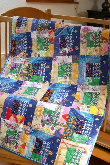 Детское лоскутное одеяло своими руками для начинающих