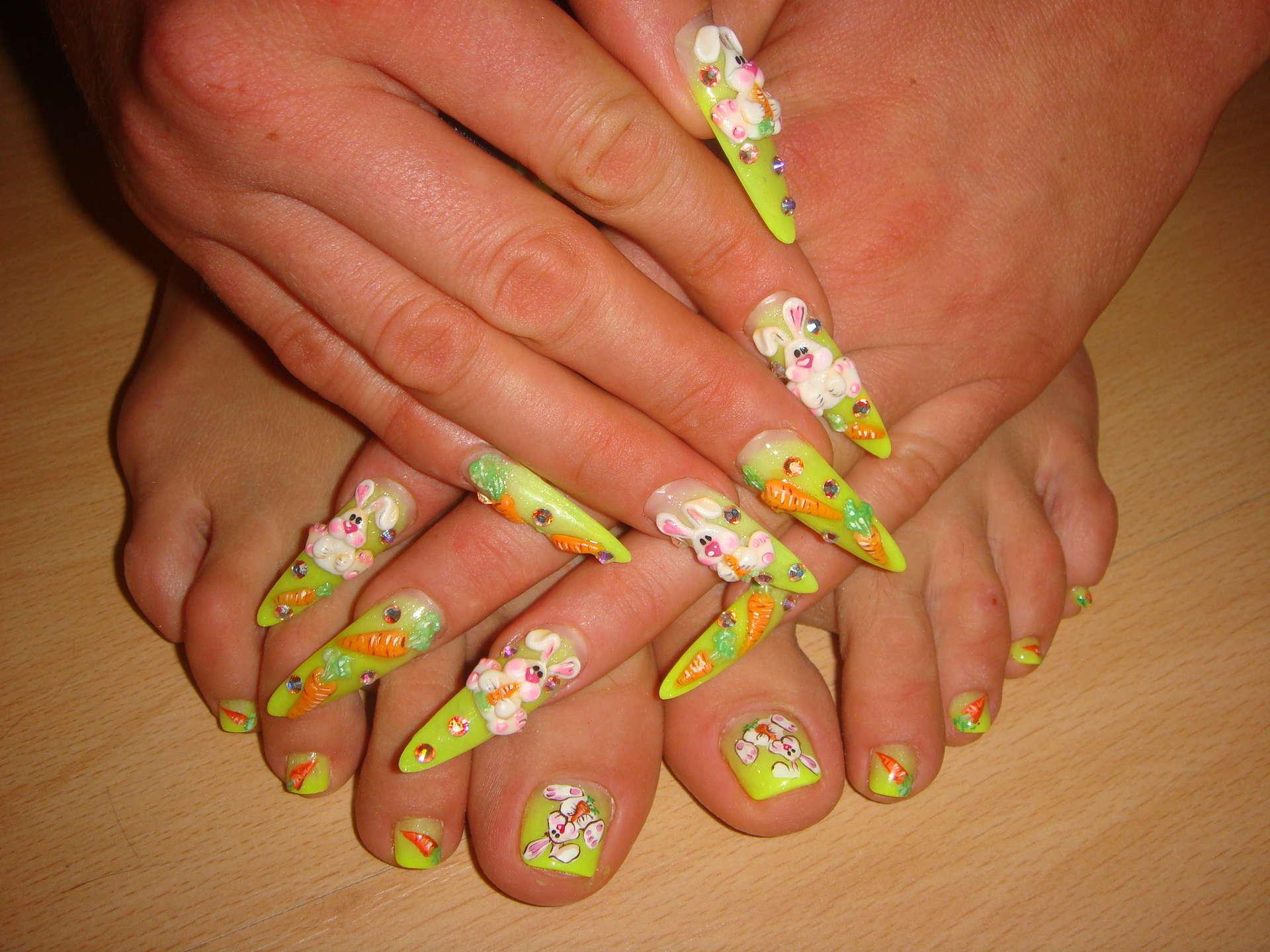 Дизайн гелевых ногтей на фото