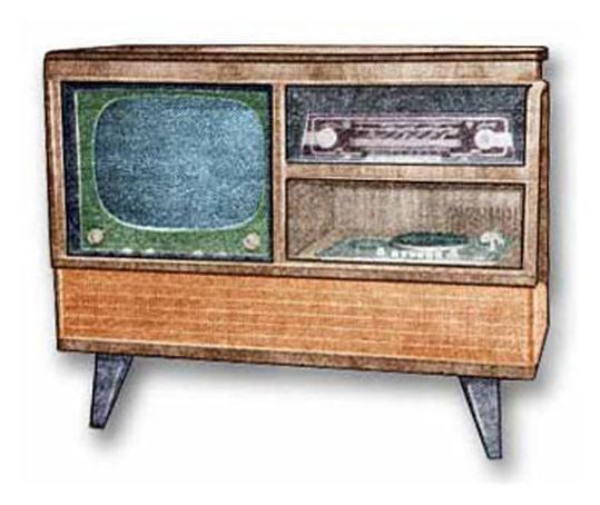 3. Телевизор, радиоприемник и