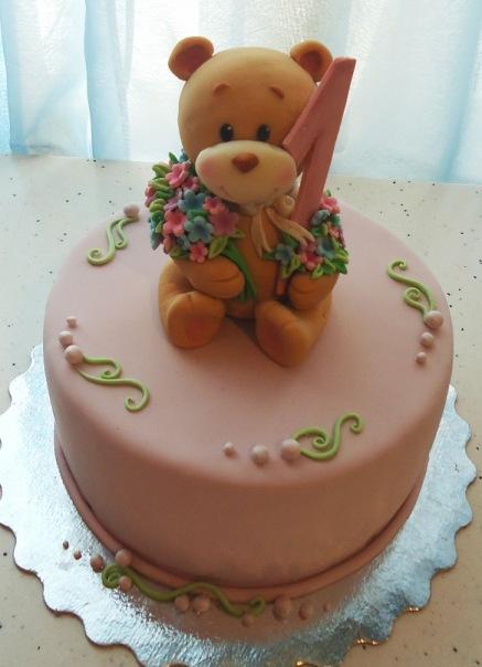 Торты для детей 2 года на день рождения своими руками