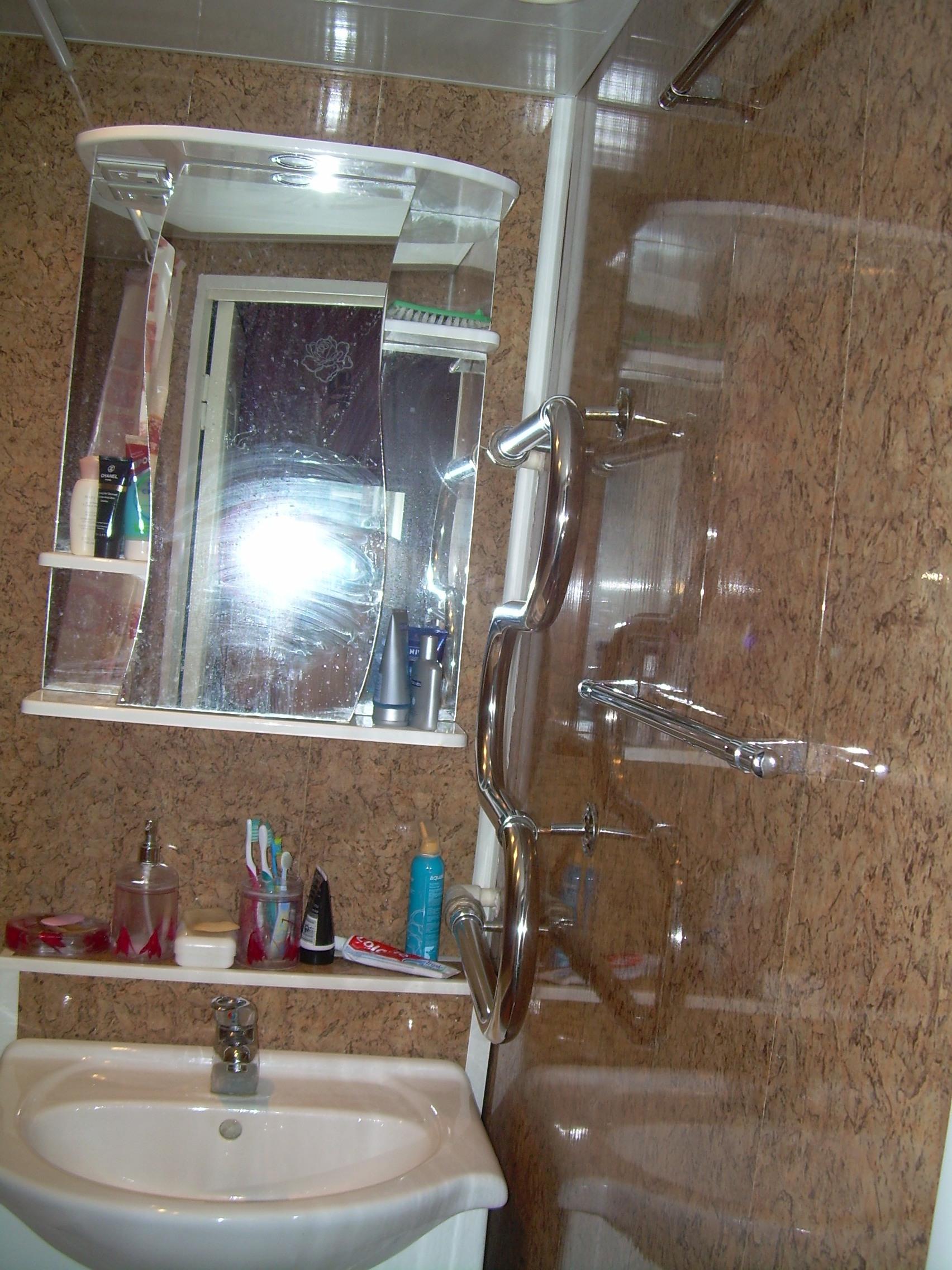 Отделка стен в туалете отделка