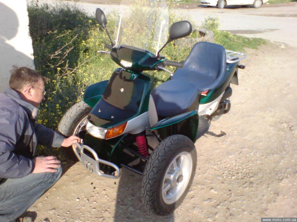3 х колёсный скутер своими руками 86