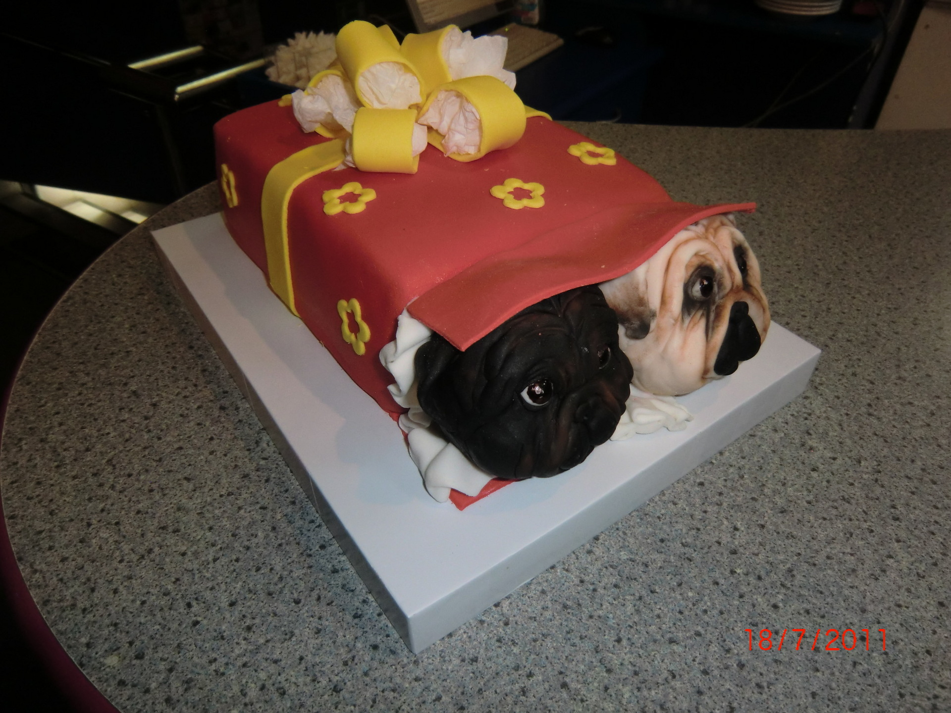 Торт для собаки своими руками фото