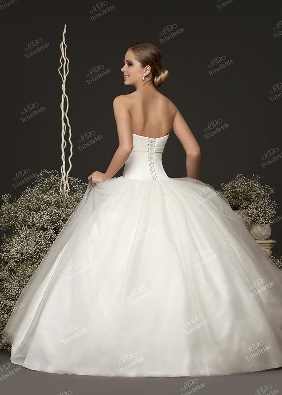 Ткани и отделка...  Свадебное платье PD0007, тм To Be Bride.