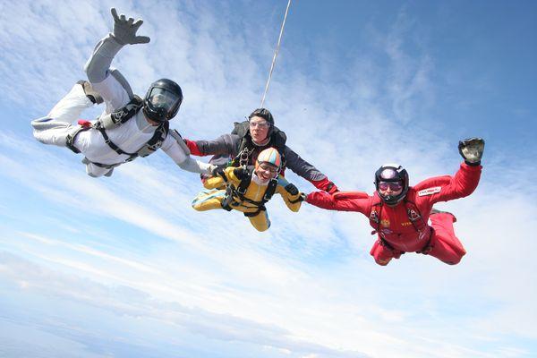 Прыжки с парашютом в орле