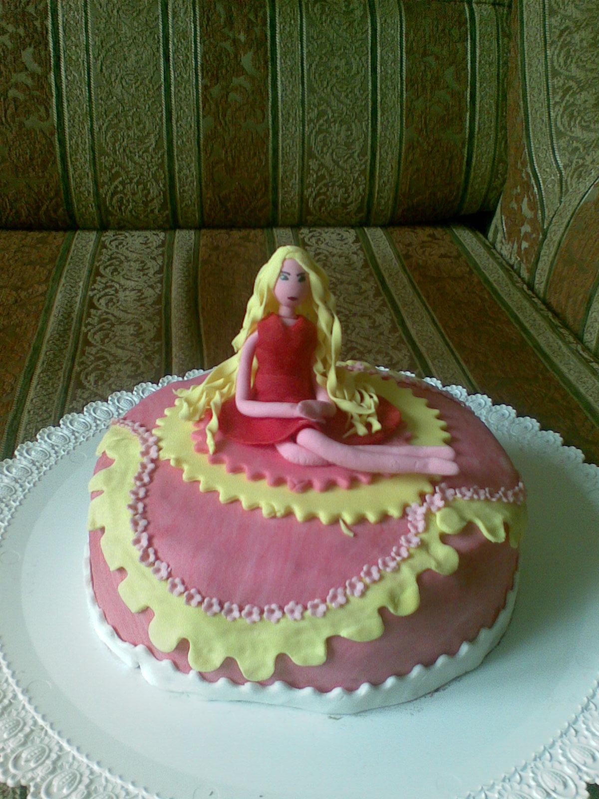 Как сделать необычный торт фото