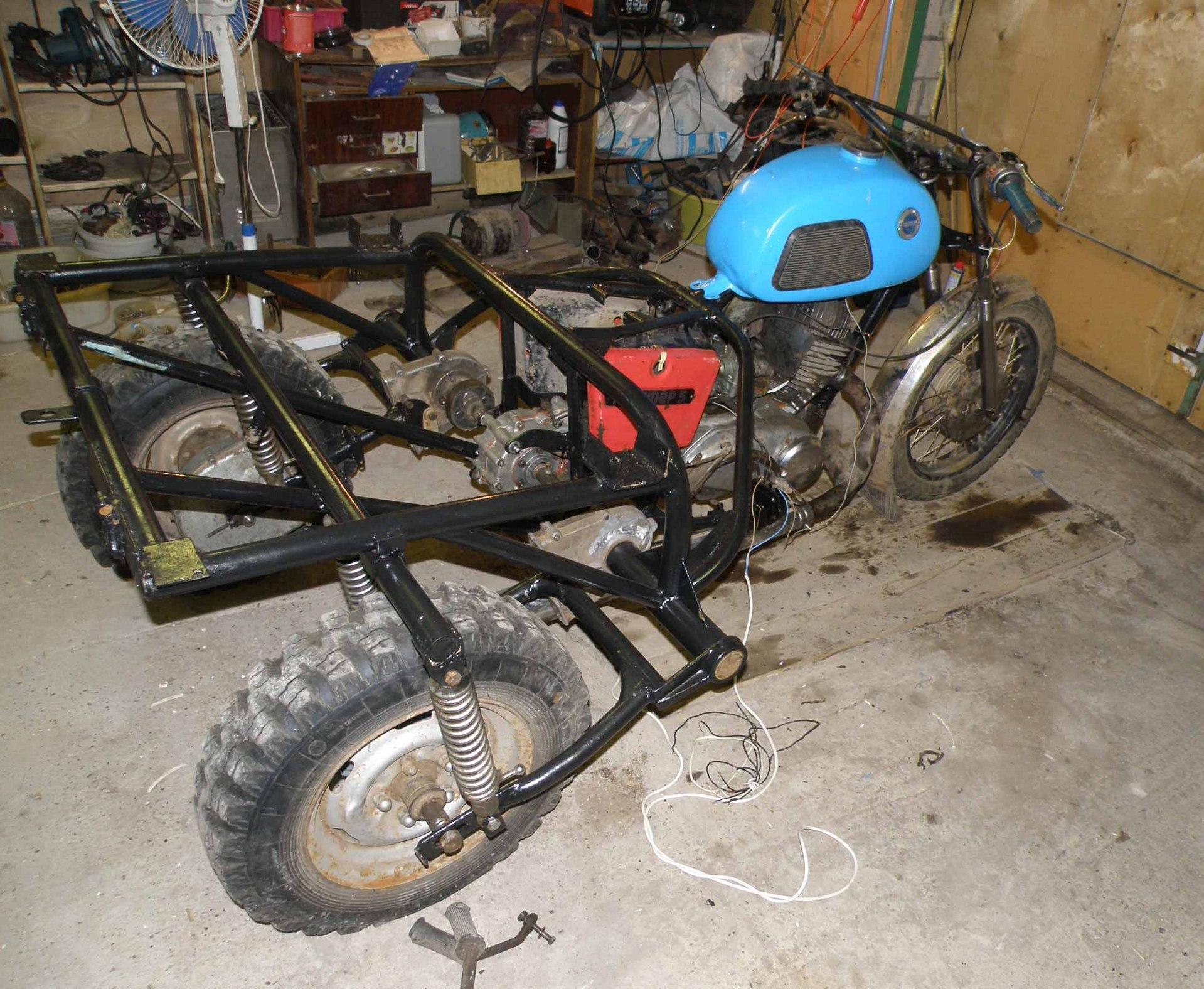 Трицикл с ижа своими руками 25