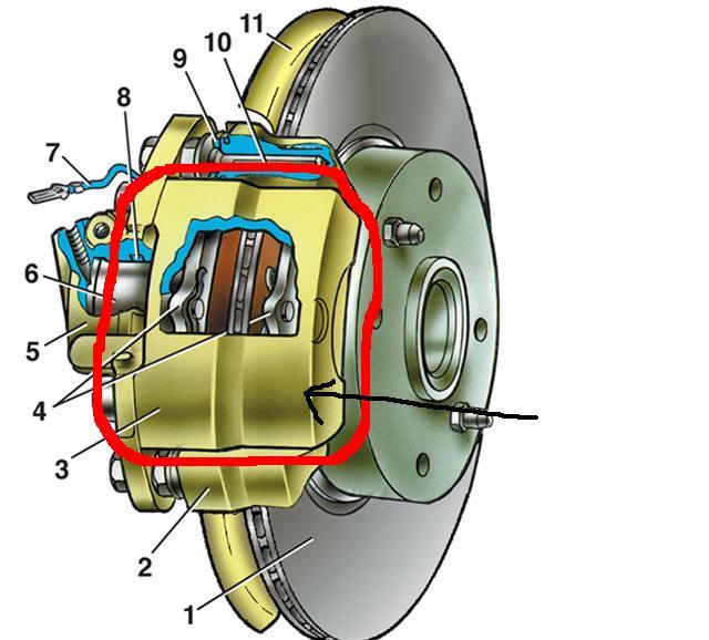 Фото №24 - ВАЗ 2110 тормозная система неисправности