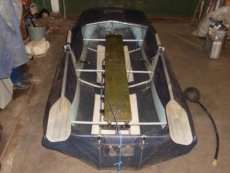 Как это сделать надувные лодки