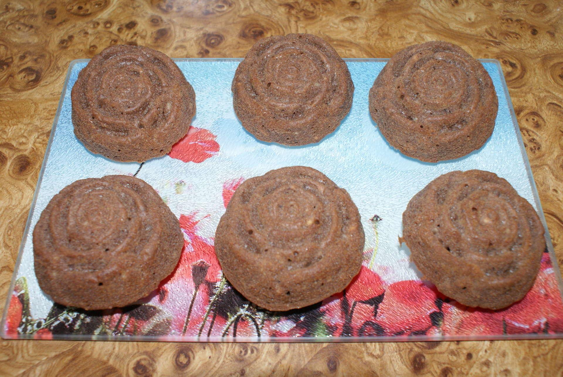 Кексы в силиконовой форме с начинкой - рецепт с фото 95