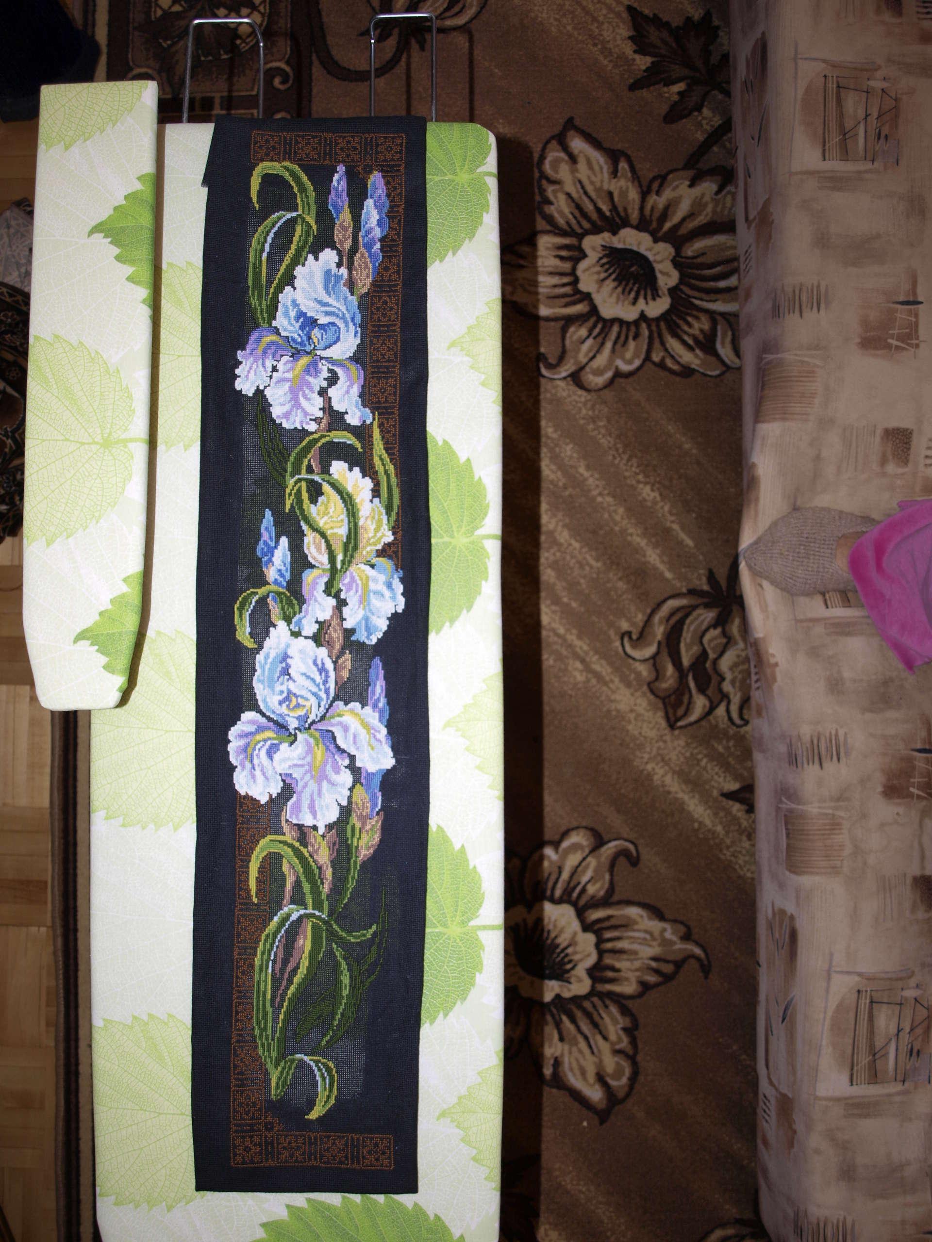 схема вышивки крестом полиптих африка стирка