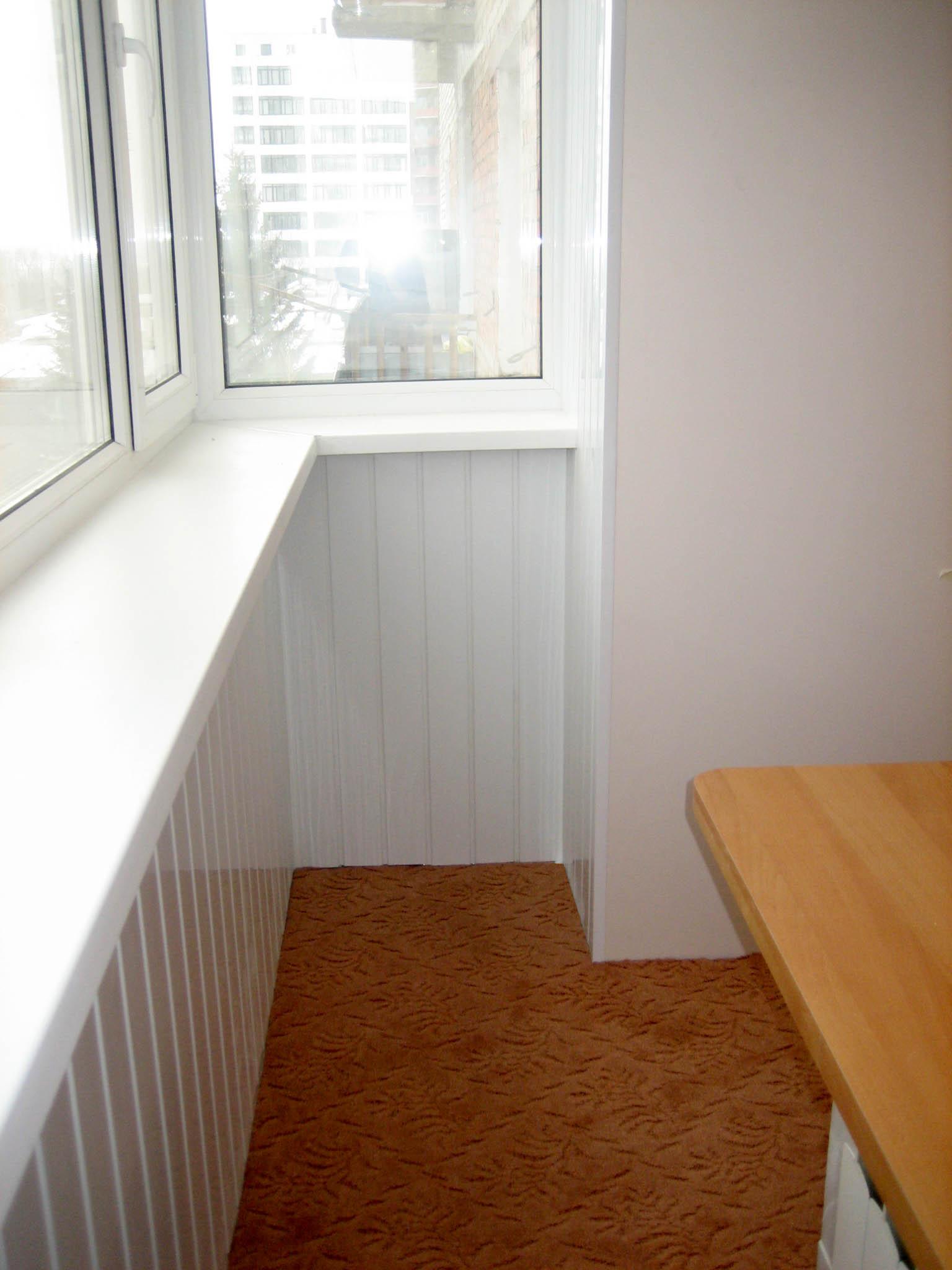 Объединение балкона с комнатой.