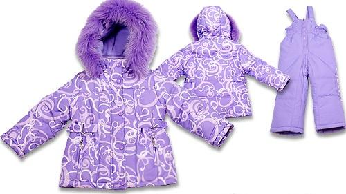 Зимние детские костюмы для девочек зс