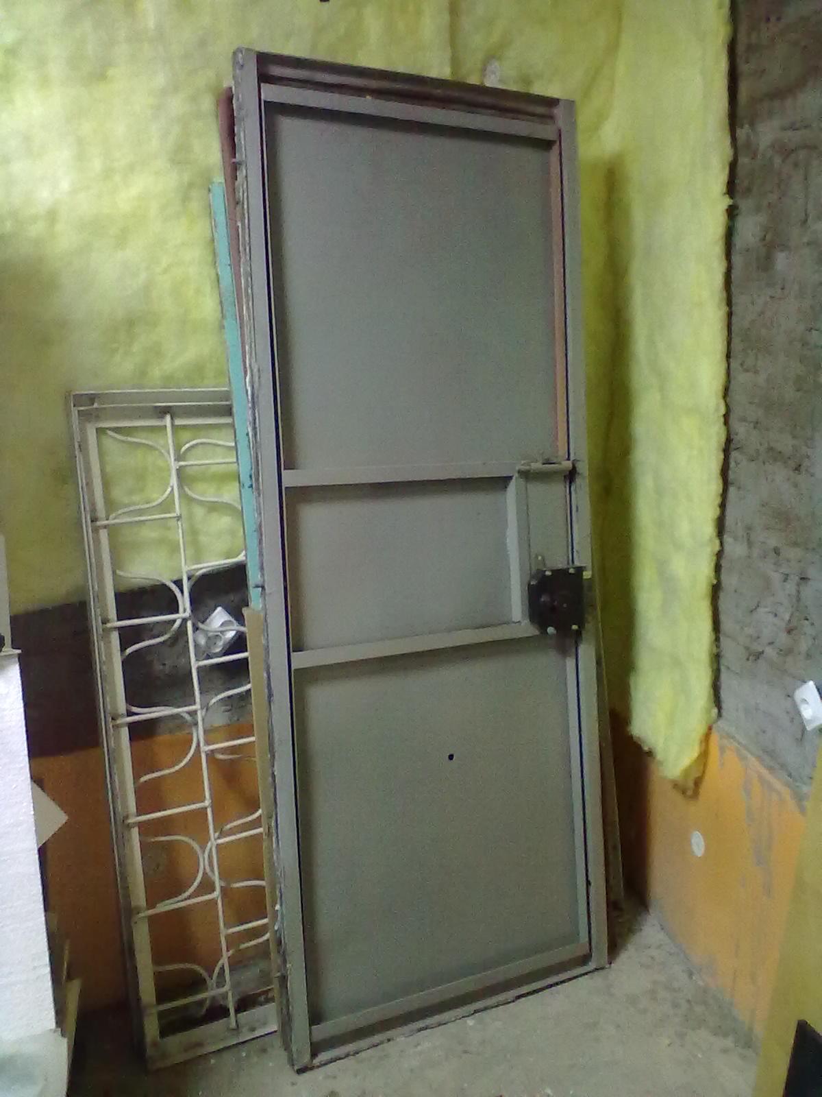 стальные двери проем 800х2000