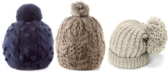 осень вязание. шапка -пион
