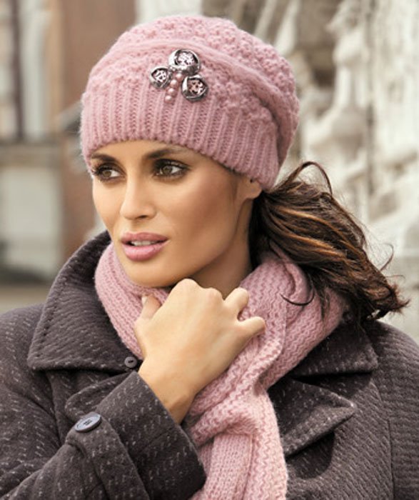 7bbf2e87c6c Осенние, зимние шапки женские купить в интернет магазине. - 12 ...