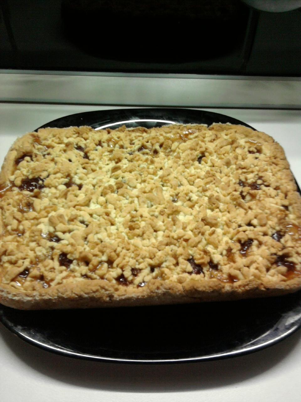 Легкий пирог с черникой рецепт с