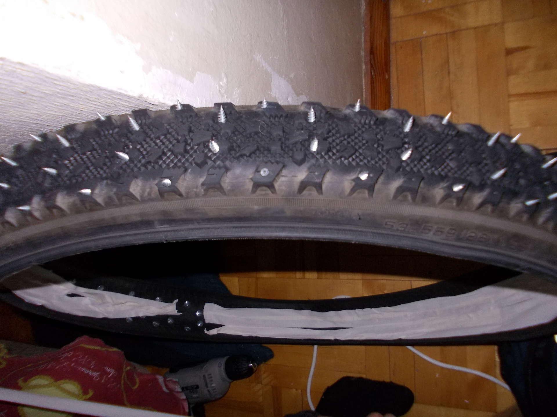 Ошиповка зимних шин своими руками - Авто-Мото Штучки 3