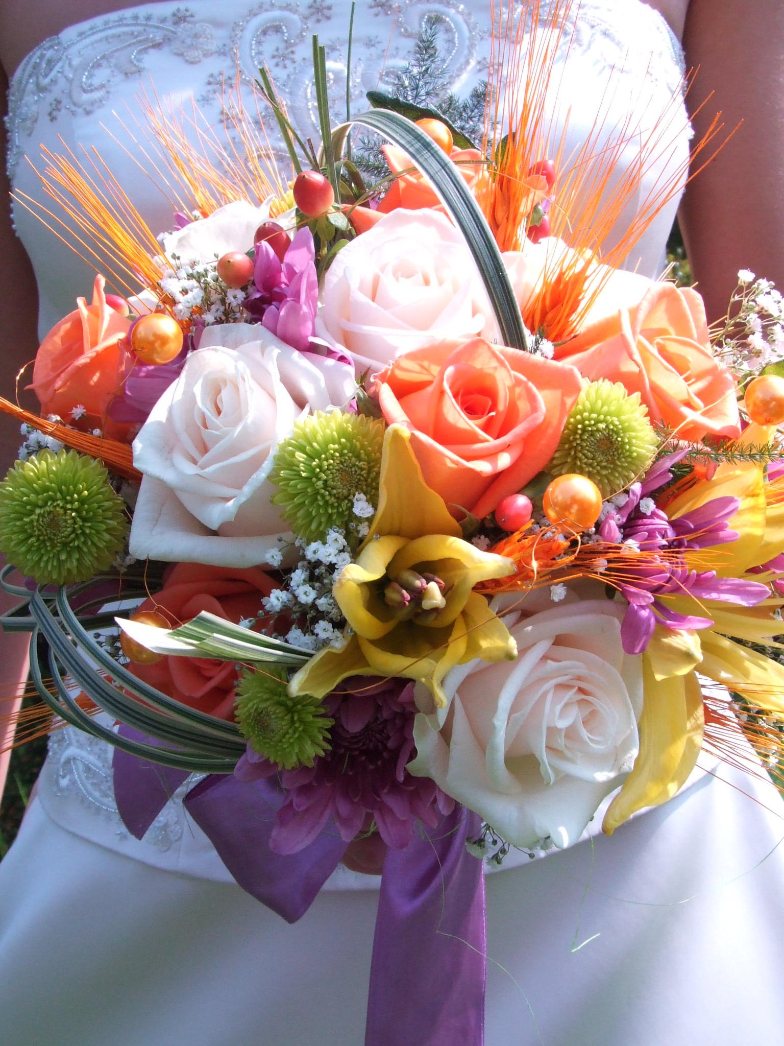 Опубликовано. пикселей. Примеры свадебных букетов из роз. 16.07.2012