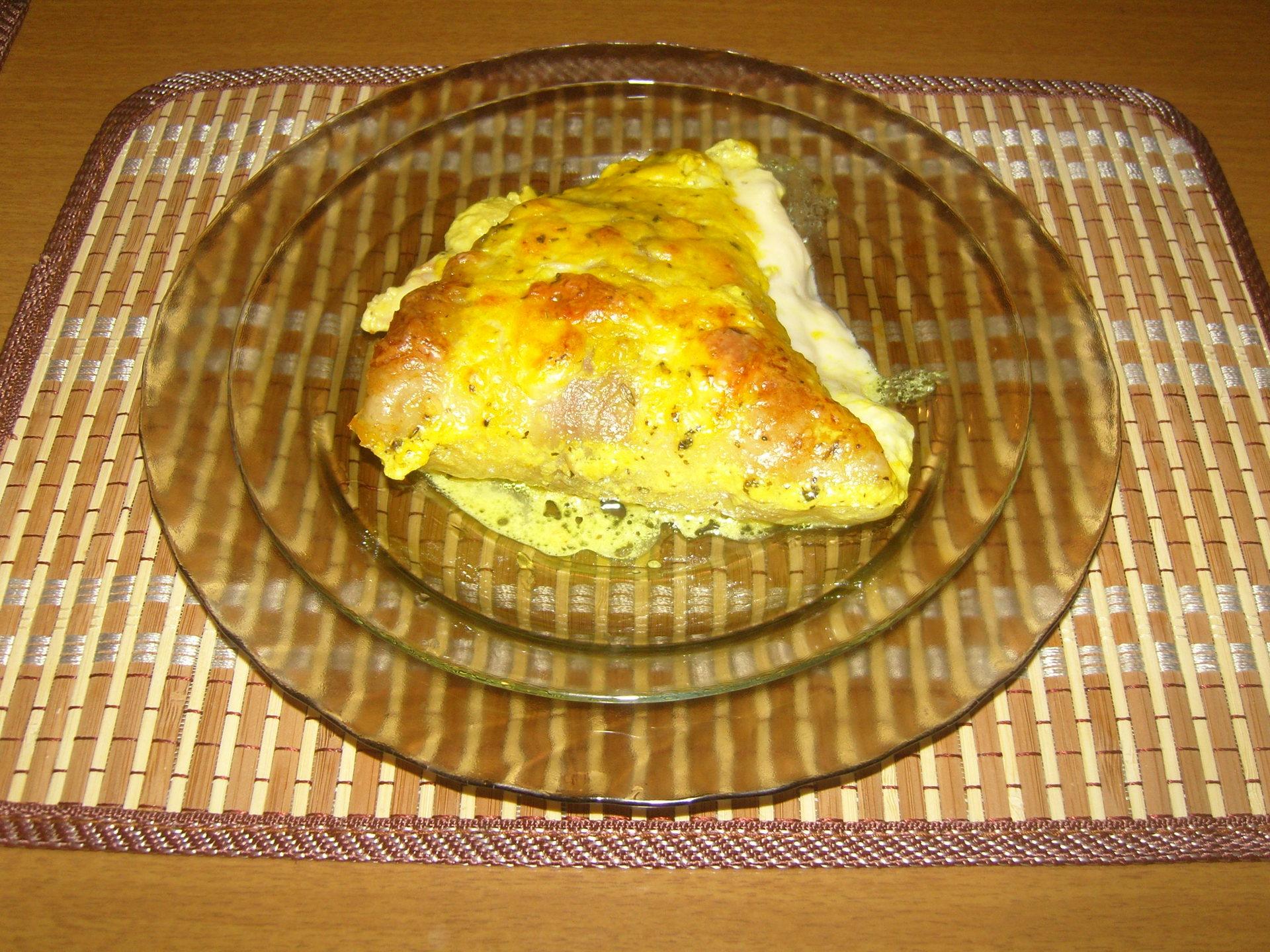 Рыбный пирог из пресного теста рецепт пошагово