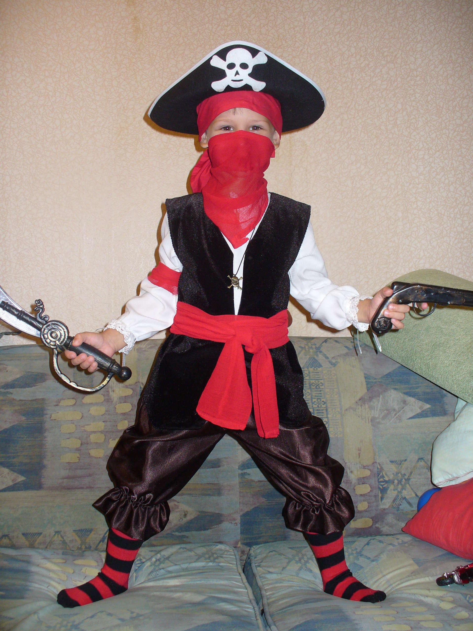 Костюм пиратский своими руками