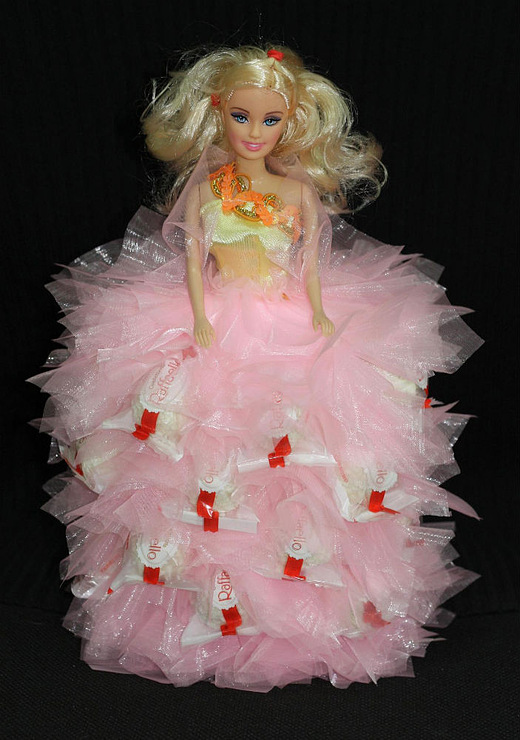 Как сделать подарок для куклы на новый год