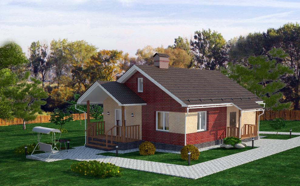 Проекты домов на недорого своими руками 936