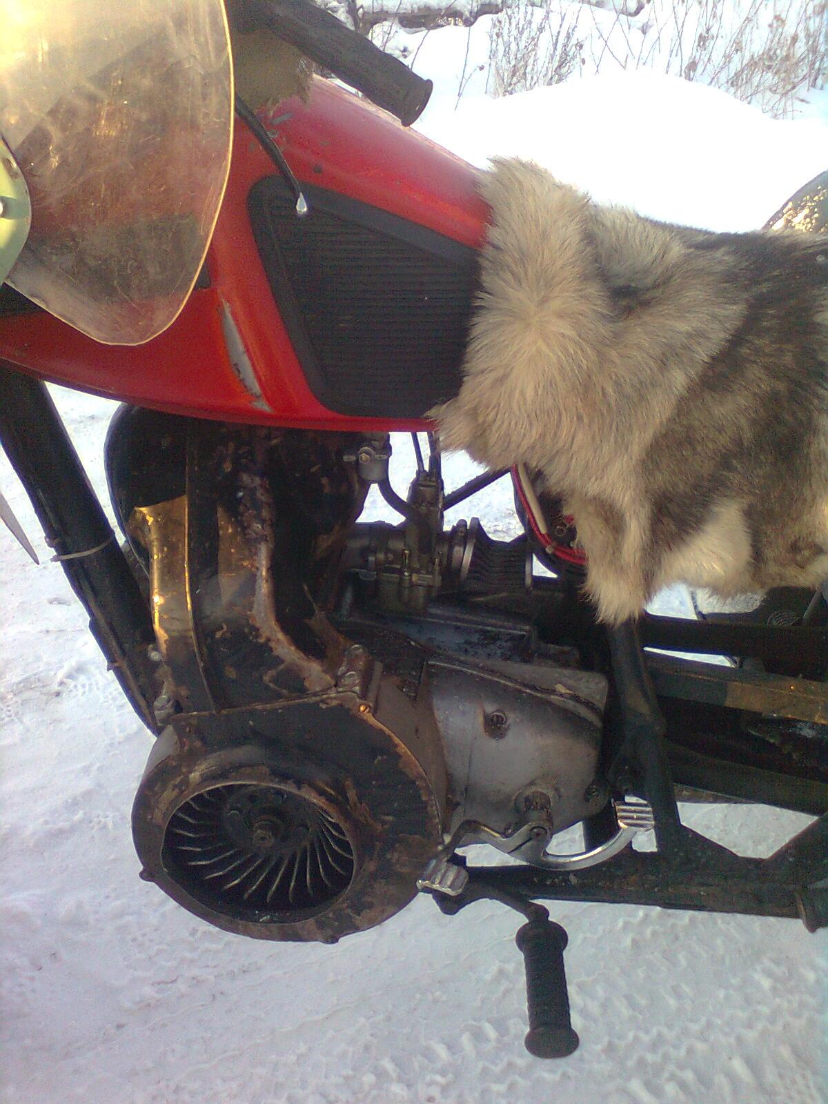 Как сделать принудительное охлаждение на мотоцикл