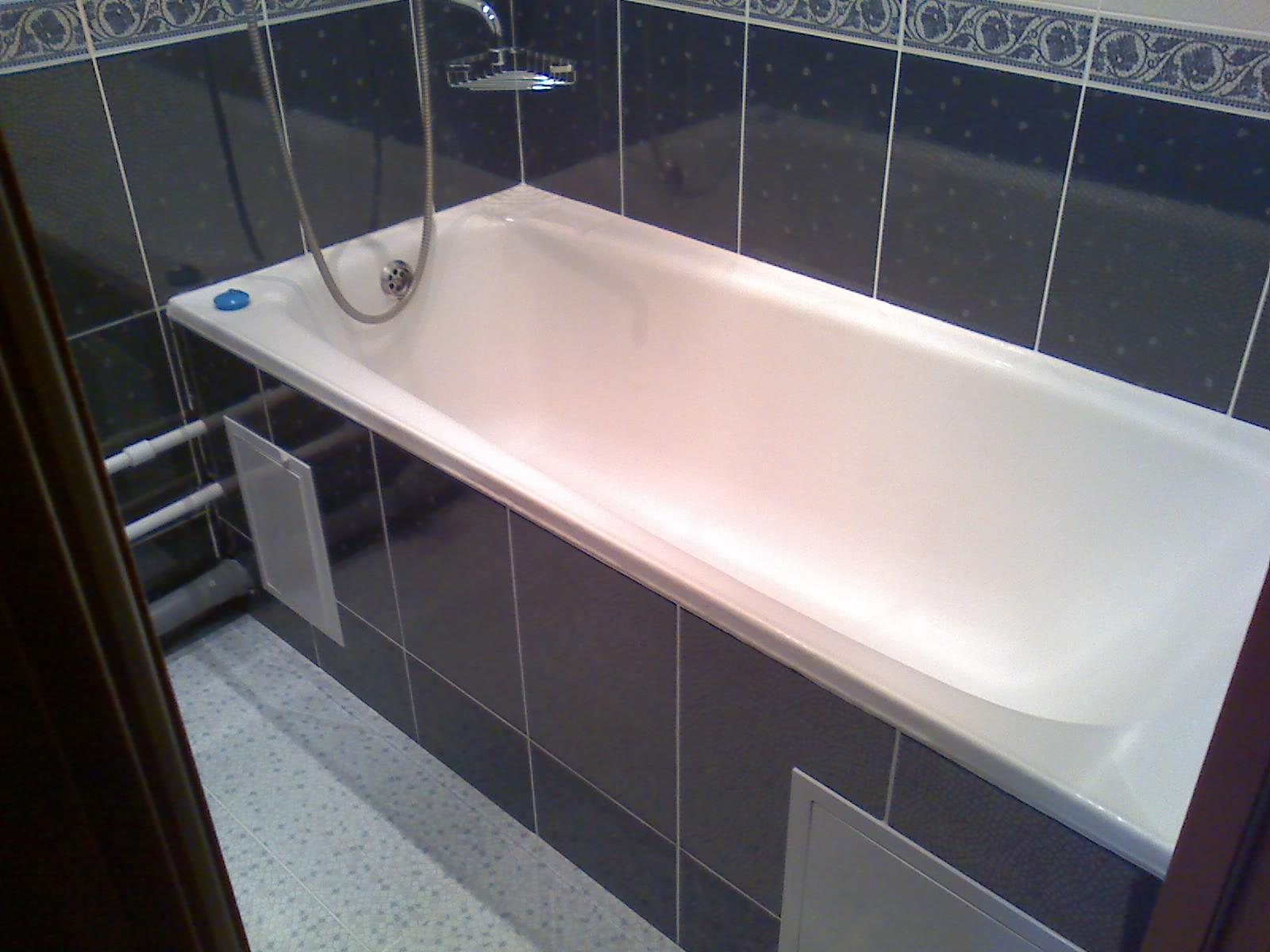 Как положить красиво белую плитку в ванной
