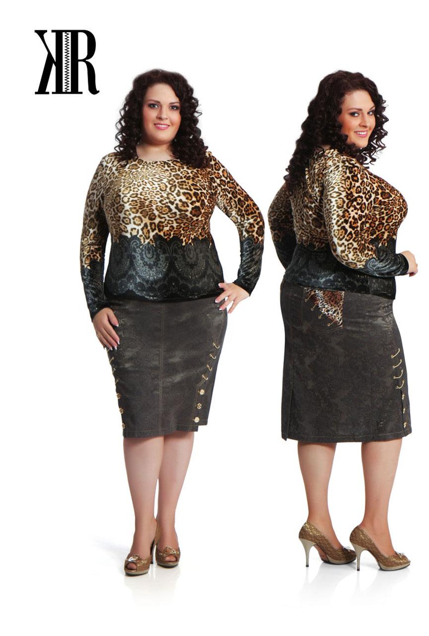 Стильная Молодежная Турецкая Одежда Для Полных Женщин
