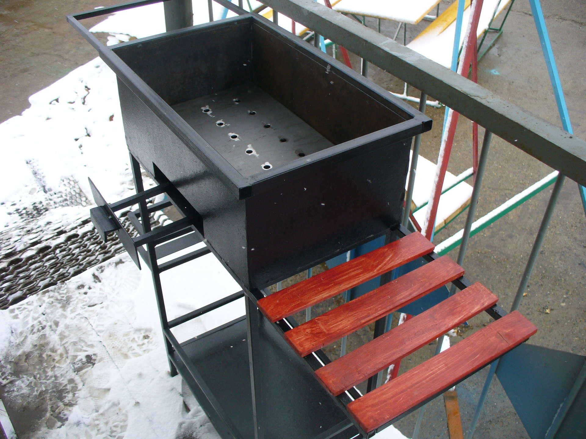 Дымоход для мангала из металла своими руками фото
