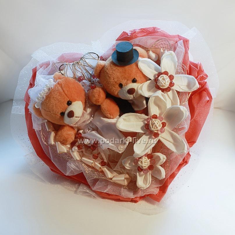 Как сделать букеты из мягких игрушек своими